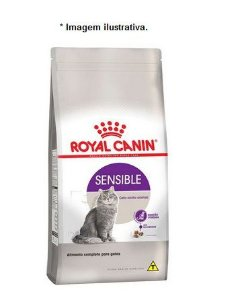 Ração Royal Canin Sensible para Gatos Adultos Sensíveis 7,5kg
