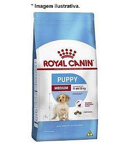 Ração Royal Canin Medium Puppy para Cães Filhotes de Raças Médias 15kg