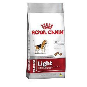 Ração Royal Canin Medium Light para Cães Adultos ou Idosos Obesos de Raças Médias 15kg