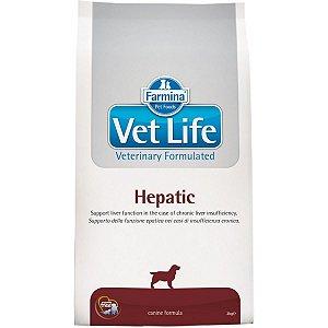 Ração Farmina Vet Life Natural Hepatic para Cães Adultos - 2kg      *Imagem Meramente Ilustrativa*