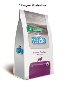 Ração Farmina Vet Life Urinary Ossalati para Cães Adultos 10kg