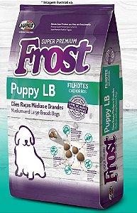 Ração Super Premium Frost para Cães Puppy LB Filhotes de Raças Médias e Grandes 15kg