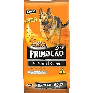 Ração Primocão Premium Original Adulto Raças Médias Carne 8Kg