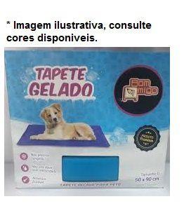 Tapete Gelado para Cães e Gatos Tamanho M (50x65cm)