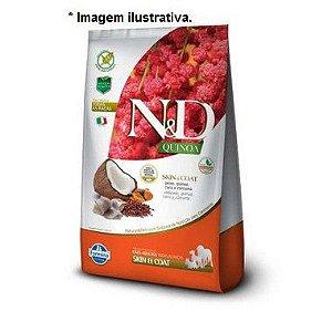 Ração Farmina N&D Quinoa Skin & Coat Peixe para Cães Adultos de Pele Sensível Todas as Raças 10,1kg