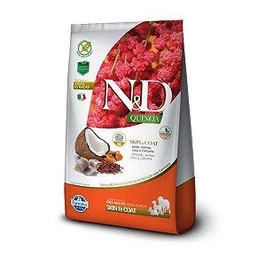 Ração Farmina N&D Quinoa Skin & Coat Peixe para Cães Adultos de Todas as Raças 2,5kg