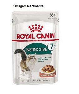 Ração Úmida Royal Canin Sachê Feline Instinctive +7  para Gatos Adultos 85gr