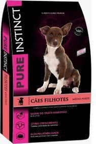 Pure Instinct Filhotes Raças Médias 15kg Pet Science - Super Premium