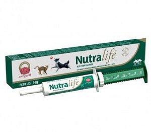 Nutralife Suplemento com alto teor calórico(cães e gato) sabor carne 14g