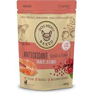 Snack Luopet Dog Menu Baked antioxidant 180gr