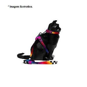 Peitoral com Guia Prisma - Zee.Cat