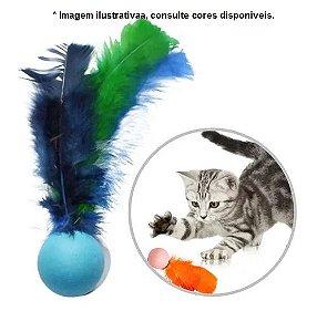 Brinquedo Para Gatos Ping Penas