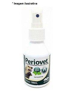 Solução Vetnil para Higiene Bucal em Spray Periovet 100 ml