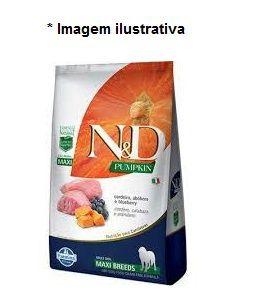 Ração Farmina N&D Pumpkin Cordeiro para Cães Adultos de Raças Grandes 10,1kg (Max)