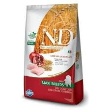 Ração N&d Canine Ancestral Grain Puppy Maxi Breeds Frango 10,1kg