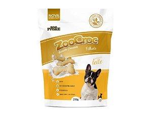 Zoocroc  biscoito crocante filhotes á base de leite 250gr