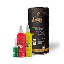 Kit Adestra Pet Plus - Educador Sanitário (Indicador 30ml + Desmarcador 200ml + Bloqueador 200ml)