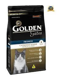 Golden Gatos Castrados Senior Frango 10,1kg      ( +10anos)