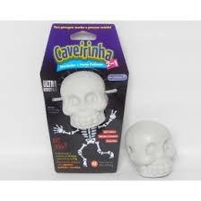 Brinquedo Mordedor Caveirinha M  nylon durável