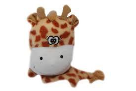 Brinquedo Girafa Soft c/ som - aprox. 12cm