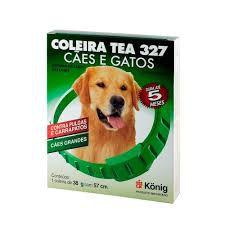Coleira Antipulgas e Carrapatos TEA Cães G - 57cm - 38g dura até 5meses