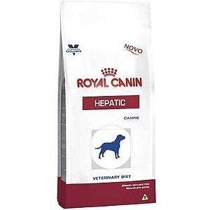 Ração Royal Canin Canine Veterinary Diet Hepatic para Cães Adultos com Problemas Hepáticos 10,1kg