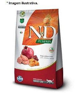 Ração Farmina N&D Pumpkin Frango, Abóbora e Romã para Gatos Adultos 7,5kg