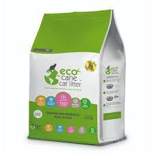 Granulado Eco Cane Cat Litter 1,3kg (Duração aproximada 30 dias)*