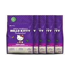 Areia da Hello Kitty Bio Grossa (ROXA) 2kg
