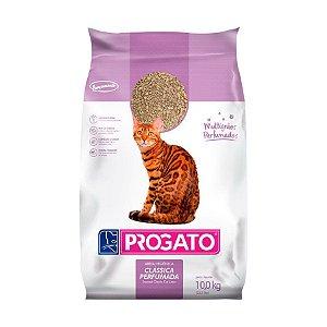 Areia Clássica Perfumada Multigrãos Progato para Gatos 10kg