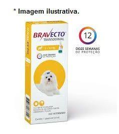 Antipulgas e Carrapatos MSD Bravecto Transdermal Para Cães 112,5mg de 2 A 4,5kg