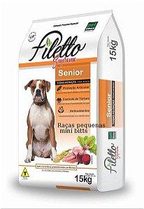 Ração Filetto Supreme  Premium Especial adulto Sênior Raças Pequenas 15kg