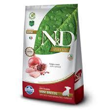 Ração Farmina N&D Grain Free Prime Frango Cães Filhotes de Raças Pequenas 10,1kg