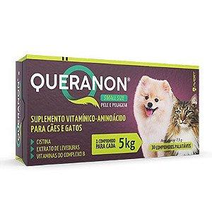 Suplemento Avert Queranon Small 5kg - 30 comprimidos