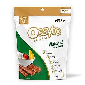Bifinho em tiras Ossyto Natural com Frutas 300g