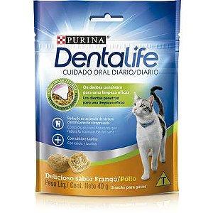 Petisco Nestlé Purina DentaLife para Gatos 40gr