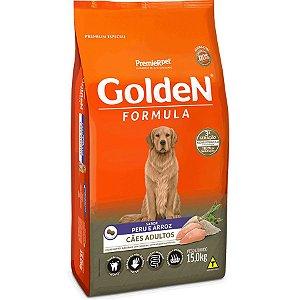 Ração Golden Formula Cães Adultos Peru e Arroz 15kg