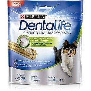 Petisco Nestlé Purina DentaLife Médio para Cães 119gr