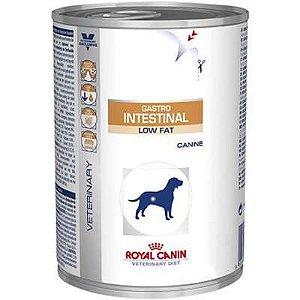 Ração Royal Canin Lata Canine Gastro Intestinal Low Fat Wet - 410 g