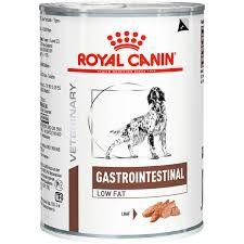 Ração Royal Canin Lata Canine Gastro Intestinal Low Fat Wet- 410g