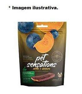 Bifinho Pet Sensations Sabor Mirtilo e Abóbora para Cães 65gr