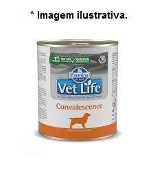 Ração Úmida Farmina Lata Vet Life convalescense para Cães 300gr