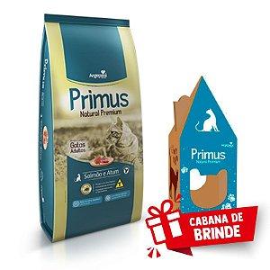 Ração Primus Natural Gato Salmão e Atum 10,1kg