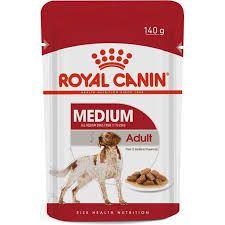 Ração Úmida Royal Canin Sachê para Cães Medium Adulto 140gr