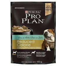 Ração Úmida Proplan para Cães Adultos Reduced Sachê sabor Peru 100g