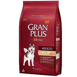 Ração Affinty Gran Plus Menu Cães Adultos Frango e Arroz 15kg