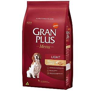 Ração Affinity  Gran Plus Menu Light Frango e Arroz para Cães Adultos 15kg