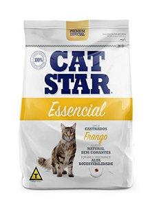 Ração Cat Star Essencial Frango Castrados 3kg