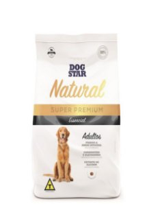 Ração Super Premium Dog Star Essencial Natural Adulto 15kg
