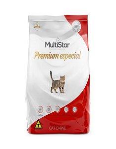 Ração Premium Especial Multi star Cat  Carne Adulto 15kg